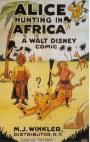 Alice Hunting in Africa (1924)