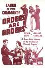Orders Are Orders (1954)