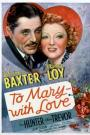 To Mary - with Love (1936)