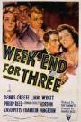 Weekend for Three (1941)