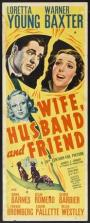 Wife, Husband and Friend (1939)